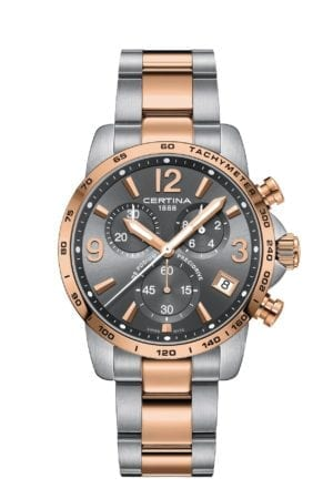 Klokke Certina DS Podium Chronograph. Ref: C034.417.22.087.00. Jacob Friis