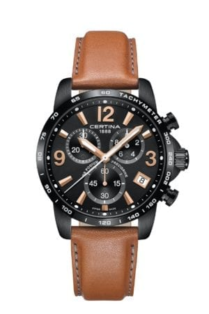 Klokke Certina DS Podium Chronograph. Ref: C034.417.36.057.00. Jacob Friis
