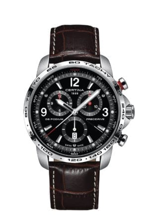 Klokke Certina DS Podium Chronograph. Ref: C001.647.16.057.00. Jacob Friis