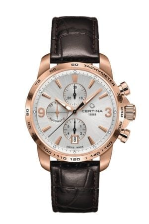 Klokke Certina DS Podium Chronograph. Ref:C001.427.36.037.00 Jacob Friis
