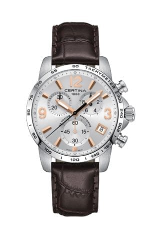 Klokke Certina DS Podium Chronograph. Ref: C034.417.16.037.01. Jacob Friis