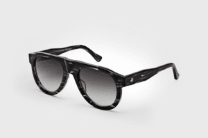 Tom Wood Duke solbrille. Feather Black. Jacob Friis.