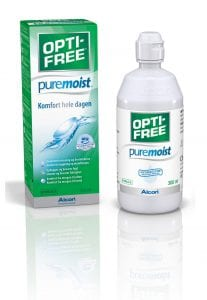 OptiFree PureMoist 300ml. Linsevæske Jacob Friis