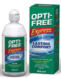 OptiFree Express 355ml. Linsevæske. Jacob Friis
