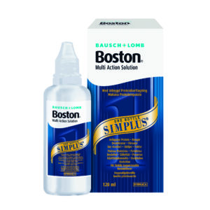Boston Simplus 120ml Multi-Action Solution. Linsevæske Jacob Friis