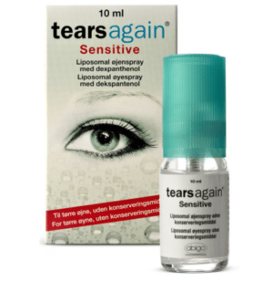 Tears Again Sensitive øyespray. Jacob Friis