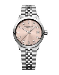 Raymond Weil Freelancer Lady. Ref: 5634-ST-80021. Jacob Friis Klokke